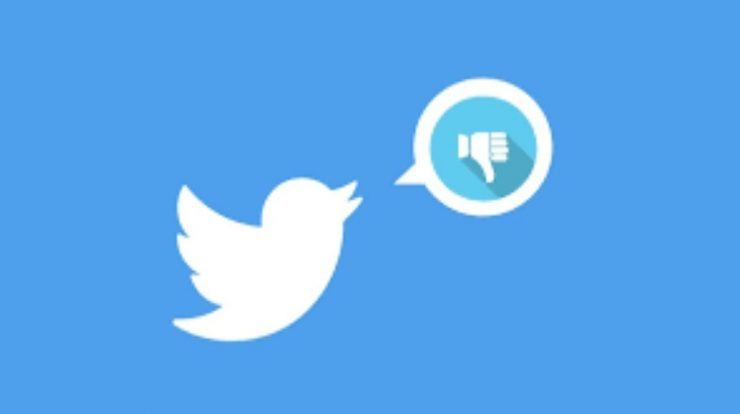 Tests on twitter dislike button but there are still some constraints